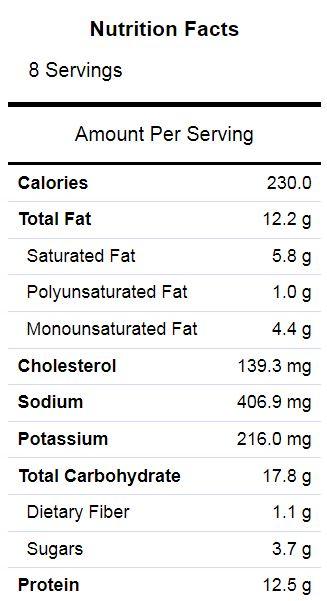 Zuchini slice nutrition.JPG